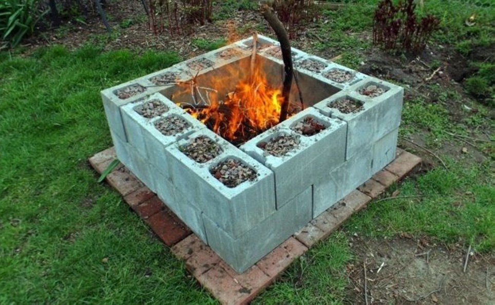 How To Make DIY Fire Pit In Garden With Low Budget 46