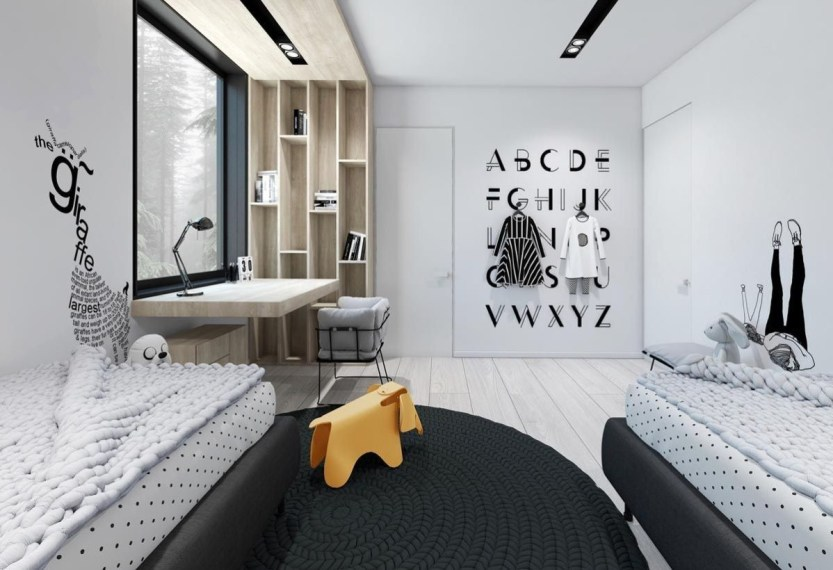 Kid Room Design With Good Furniture And Accessories 27