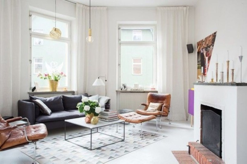 Light And Style Scandinavian Living Room Design 38