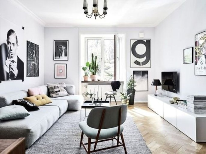 Light And Style Scandinavian Living Room Design 43