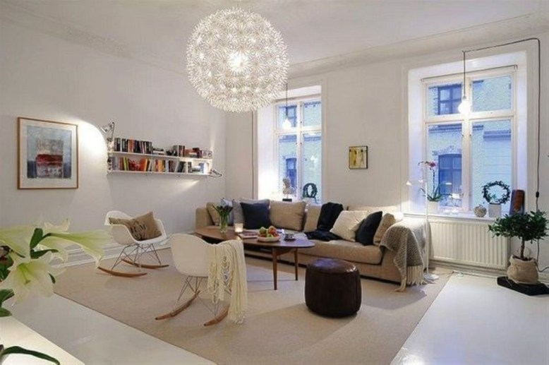 Light And Style Scandinavian Living Room Design 46