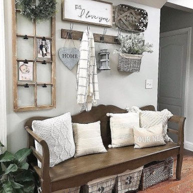 Amazing Farmhouse Apartment Decoration You Must Try 15