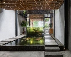 Amazing Indoor Fish Pond To Upgrade Your House 11