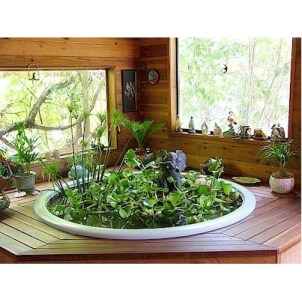 Amazing Indoor Fish Pond To Upgrade Your House 21