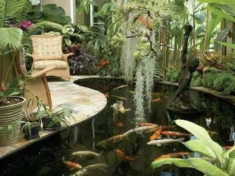 Amazing Indoor Fish Pond To Upgrade Your House 28