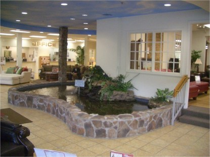 Amazing Indoor Fish Pond To Upgrade Your House 34