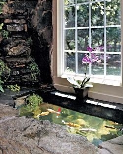Amazing Indoor Fish Pond To Upgrade Your House 39