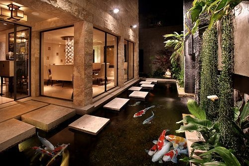 Amazing Indoor Fish Pond To Upgrade Your House 56