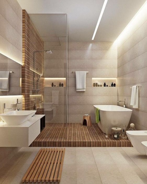 Beautiful Modern Bathroom Design You Can Try 02