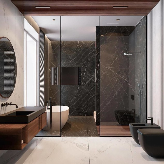 Beautiful Modern Bathroom Design You Can Try 21