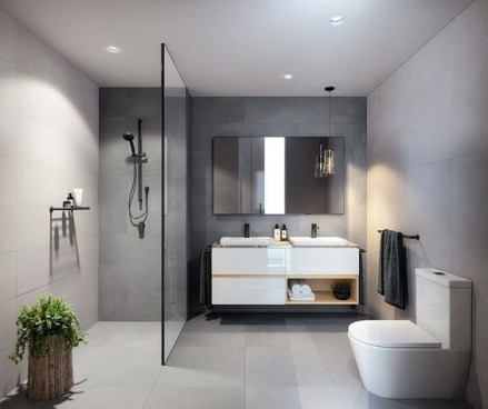 Beautiful Modern Bathroom Design You Can Try 24