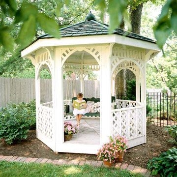 Best Backyard Gazebo Made From Pallets 01