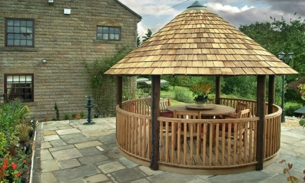 Best Backyard Gazebo Made From Pallets 21