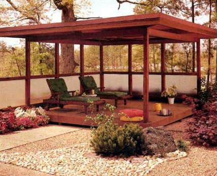Best Backyard Gazebo Made From Pallets 33