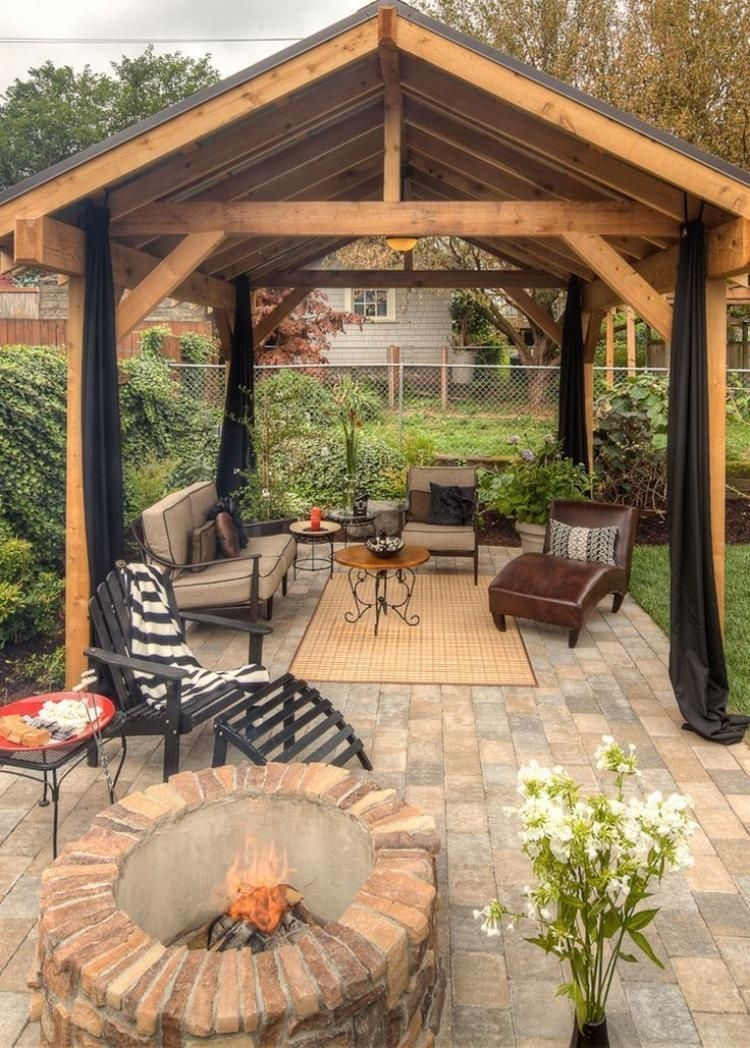 Best Backyard Gazebo Made From Pallets 34