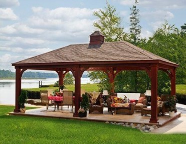 Best Backyard Gazebo Made From Pallets 44