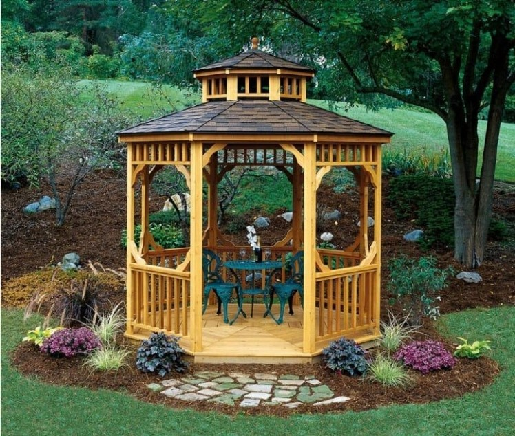 Best Backyard Gazebo Made From Pallets 47