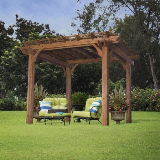 Best Backyard Gazebo Made From Pallets 49
