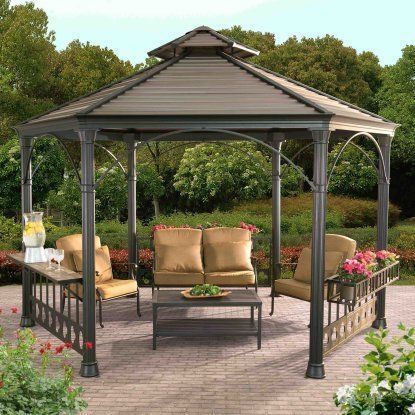 Best Backyard Gazebo Made From Pallets 50