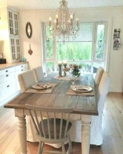 Best Decoration French Farmhouse Dining Room Design 05