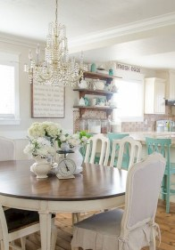 Best Decoration French Farmhouse Dining Room Design 11