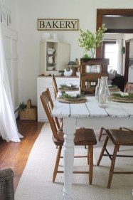 Best Decoration French Farmhouse Dining Room Design 14