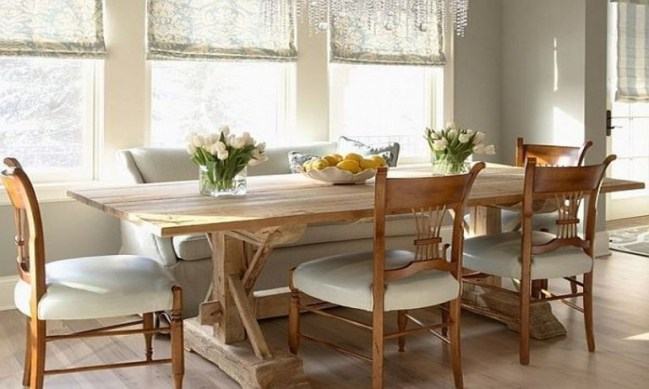 Best Decoration French Farmhouse Dining Room Design 24