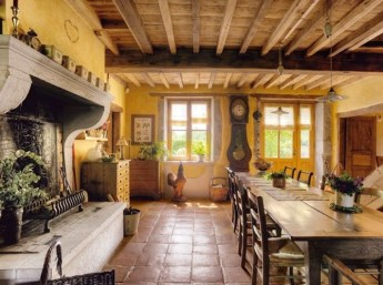Best Decoration French Farmhouse Dining Room Design 31