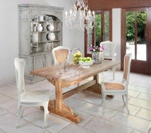 Best Decoration French Farmhouse Dining Room Design 33