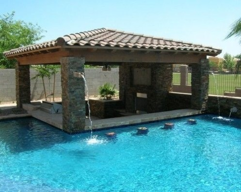 Best Outdoor Pool Design For Your Decoration 20