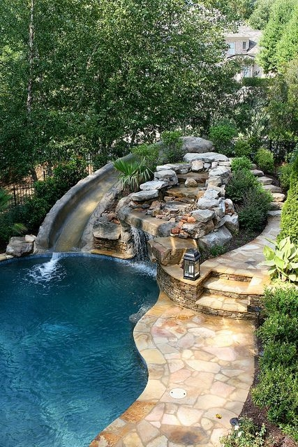 Best Outdoor Pool Design For Your Decoration 21