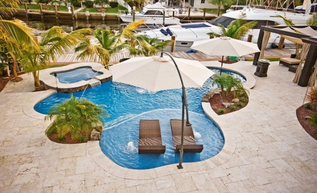 Best Outdoor Pool Design For Your Decoration 22