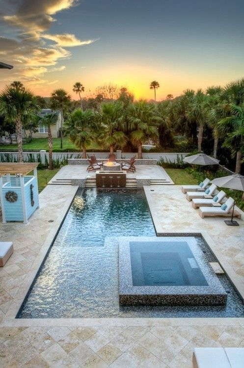 Best Outdoor Pool Design For Your Decoration 30