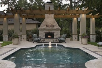 Best Outdoor Pool Design For Your Decoration 33