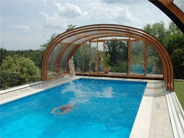 Best Outdoor Pool Design For Your Decoration 36