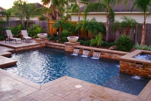 Best Outdoor Pool Design For Your Decoration 42