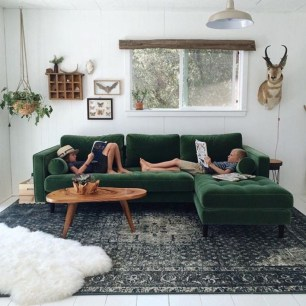 Best Rug To Decor Your First Living Room 11