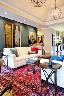 Best Rug To Decor Your First Living Room 15