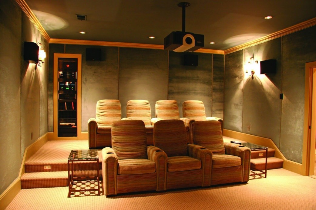 DIY Home Theater Seating Ideas 13
