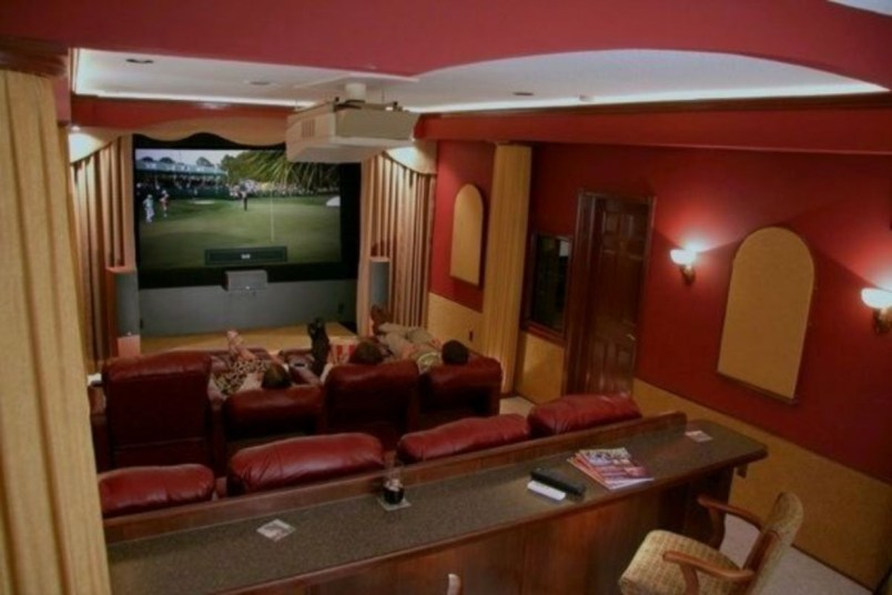 DIY Home Theater Seating Ideas 25