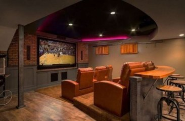 DIY Home Theater Seating Ideas 43