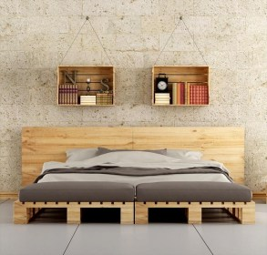 DIY Pallet For Bed Place For Your Idea 02