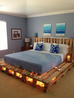 DIY Pallet For Bed Place For Your Idea 08