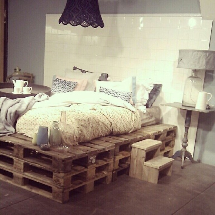 DIY Pallet For Bed Place For Your Idea 20