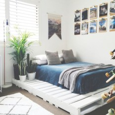 DIY Pallet For Bed Place For Your Idea 26