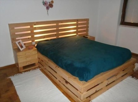DIY Pallet For Bed Place For Your Idea 36