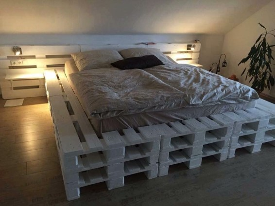 DIY Pallet For Bed Place For Your Idea 50
