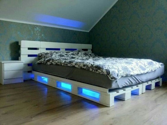 DIY Pallet For Bed Place For Your Idea 51