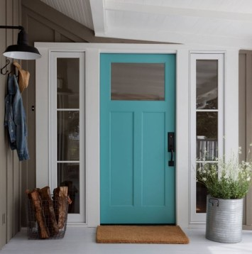 Farmhouse Door Design For Decorating Your House 07