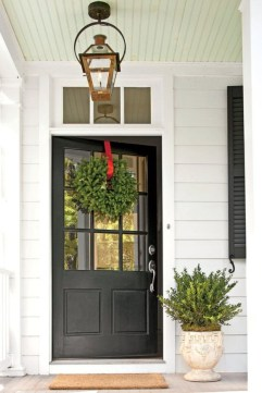 Farmhouse Door Design For Decorating Your House 29